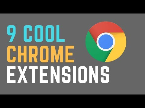 8 Cool Chrome Extensions