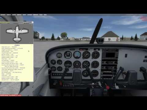 First Impression- A2A Cessna 172 (P3D) Pre-flight & Engine Start