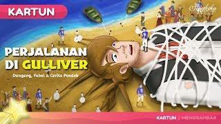 Reise in Gulliver | Karikatur-Kinder | die Geschichte der Indonesischen Kinder Geschichten