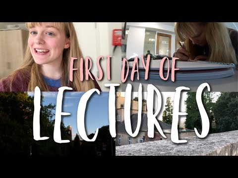 FIRST DAY OF LECTURES || Daily University Vlogs at Exeter