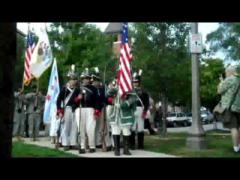 Battle of Fort Dearborn Park Dedication 2, Chicago 2009-08-15