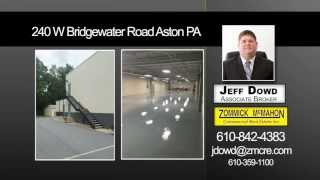 Available Office Space Aston PA - Agent Jeff Dowd 610.842.4383