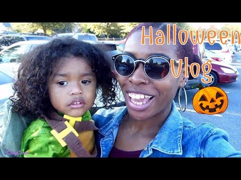 Our Fun Halloween Vlog🎃| Interracial family| Biracial family