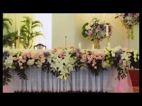 Inilah Rangkaian Bunga Meja Altar Yang Cantik Di Kota Tangerang