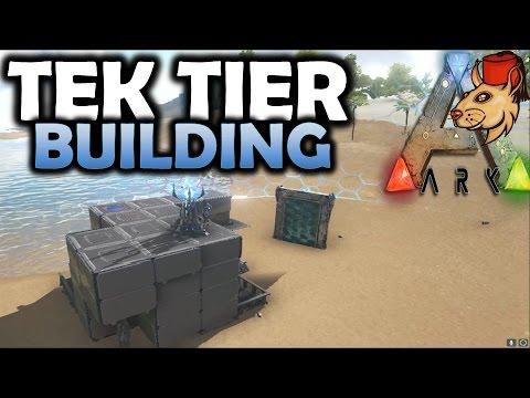 how to get tek tier in ark