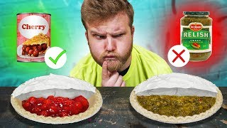 DON'T Pick The Wrong Mystery Pie Challenge!!