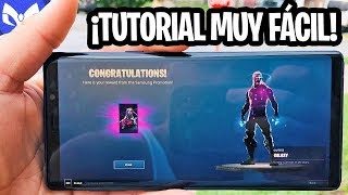 HOW TO HAVE GALAXY SKIN IN FORTNITE FOR FREE
