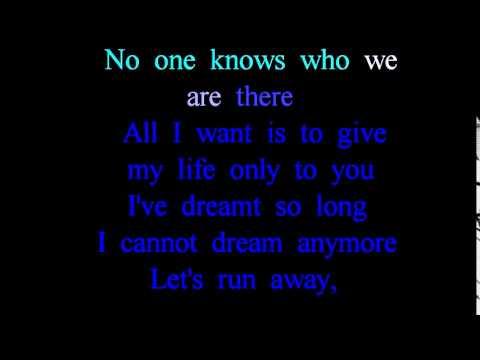 Anywhere -- Evanescence Karaoke (Highlighting lyrics)