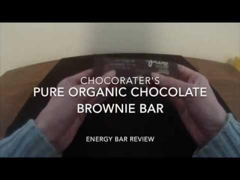Pure Organic Chocolate Brownie Bar -- Energy bar Review