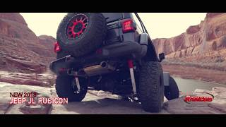 "2018 Jeep Wrangler JL 2"" SPORT suspension system"