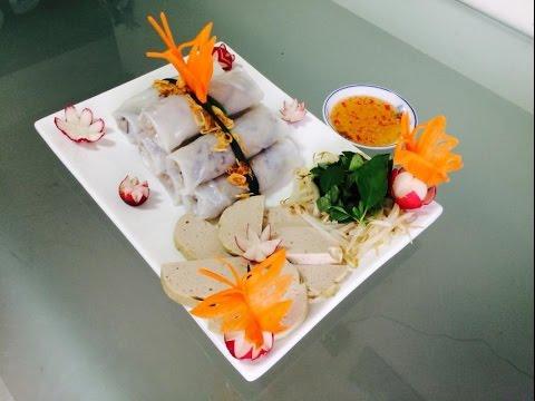 Bánh cuốn | Vietnamese steamed rice rolls