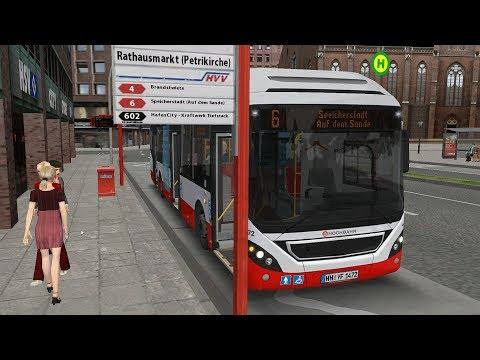 OMSI 2 Add-On Hamburg HafenCity - Volvo 7900 Hybrid - Line 6 2/2