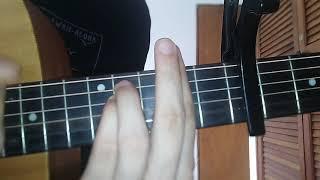 Tommy Torres, Sebastian Yatra - Atado Entre Tus Manos . Guitarra Tutorial Como Tocar