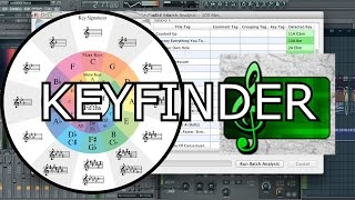 HOW TO KEY A SONG WITH KEYFINDER