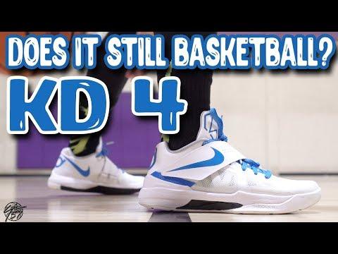 Does it Still Basketball? Nike KD 4!