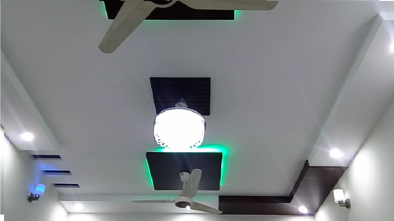 Latest Gypsum False Ceiling Design For Drawing Room 2018 Youtube