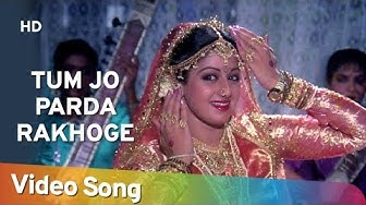 Tum Jo Parda Rakhoge   Gair Kaanooni Songs   Sridevi   Govinda    Bappi Lahiri   Bollywood Mujra