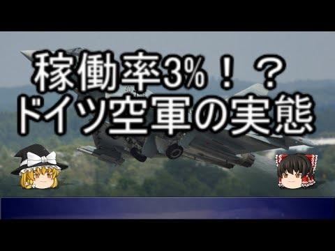 【ゆっくり解説】悲惨!!ドイツ空軍 ※訂正箇所あり、概要欄参照