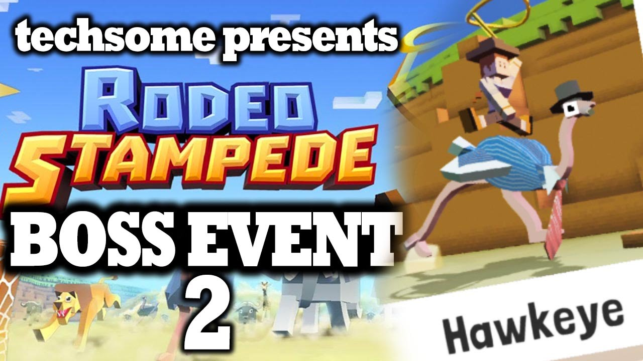 Rodeo Stampede Boss Event 2 Taming Bosstrich Youtube