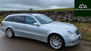 Should You Buy a MERCEDES E CLASS ESTATE? (Test Drive & Review W211 E280 CDI)