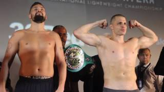 BELLEW VS FLORES INTENSE FACE OFF PLUS BELLEW KICKS OFF WITH TEAM FLORES