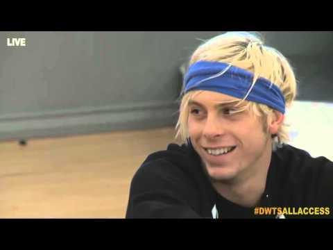 Dancing with the Stars 20 Riker Lynch & Allison Holker Week 4 Rehearsal