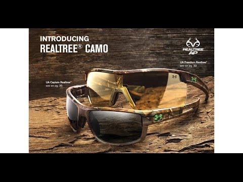 45ee288a53 Under Armour Performance Eyewear Realtree Camo Collection - YouTube