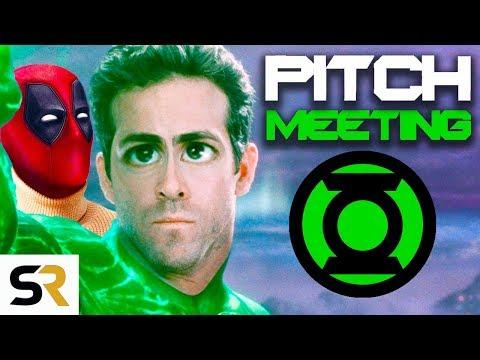 Green Lantern Pitch Meeting