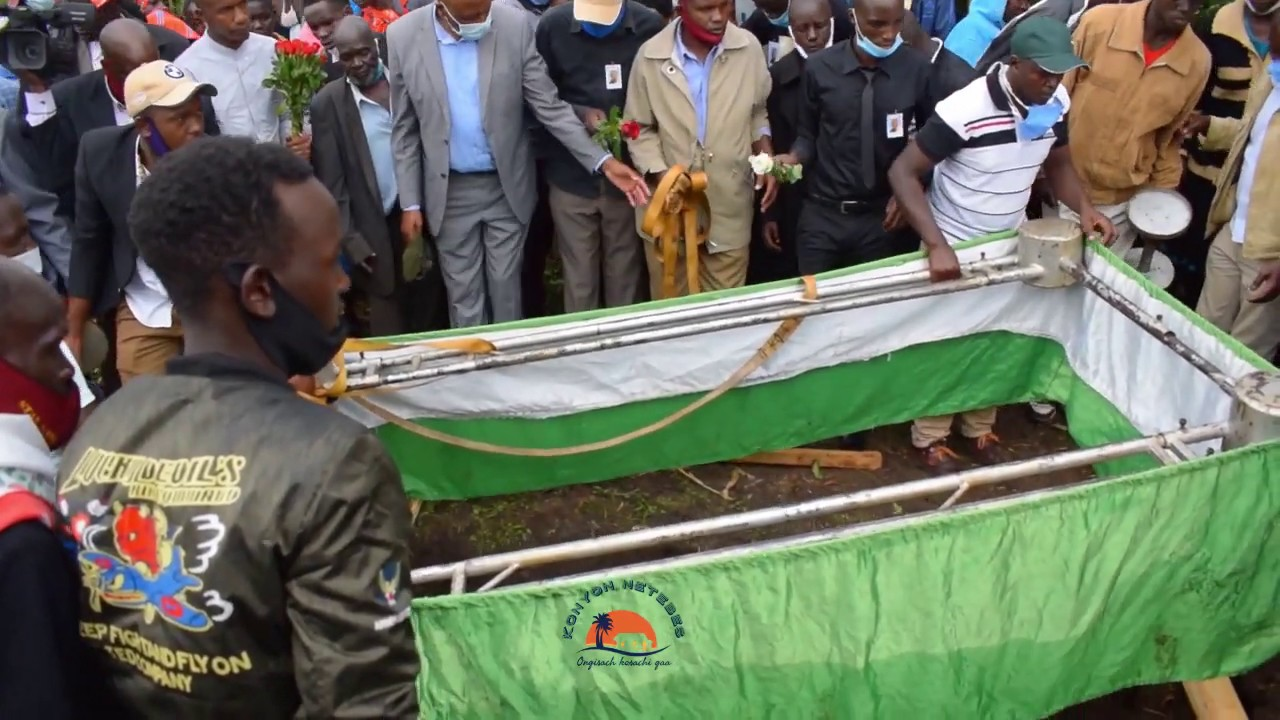 THE LATE TIMOTHY KEMEI LAID TO REST AT HIS HOME IN FORT TERNAN KERICHO