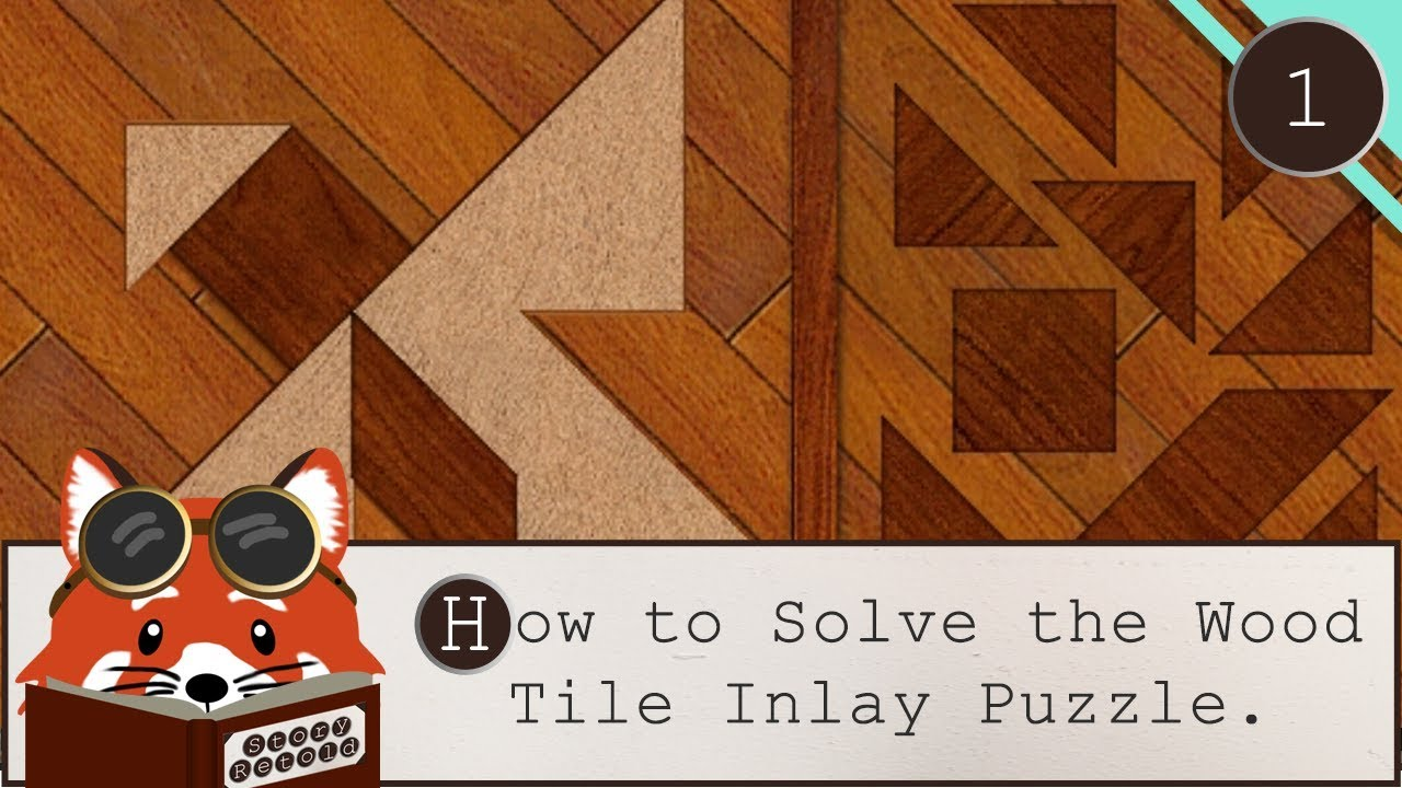 How To Solve The Wood Tile Inlay Puzzle Message In A Haunted