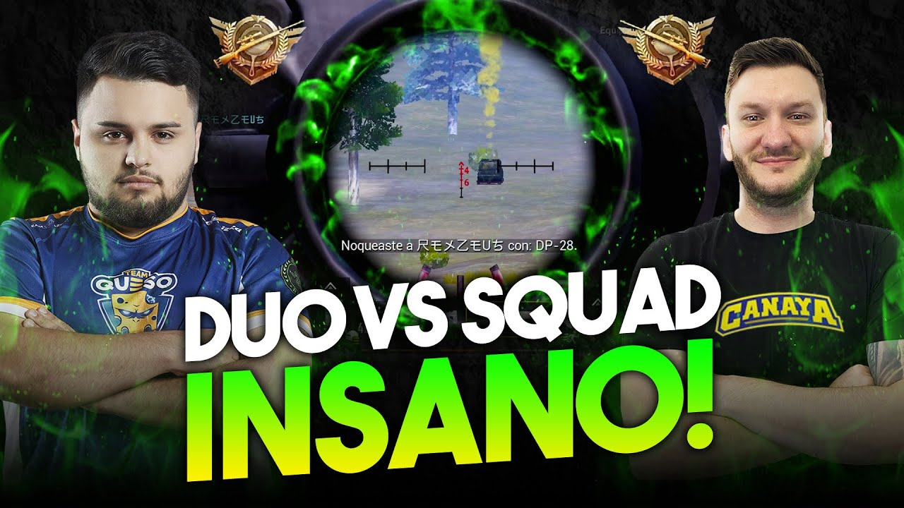 DUO X SQUAD INSANO Ft. CANAYA [PUBG MOBILE] AXEEL