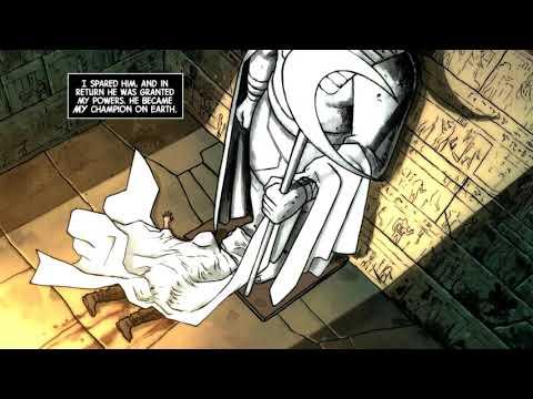 Origin of Moon Knight Comic Dub