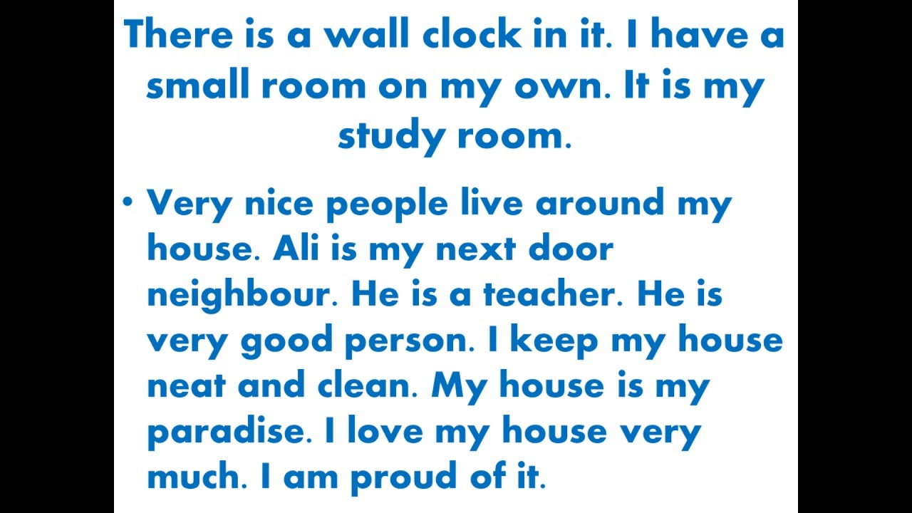 short essay on wall clock