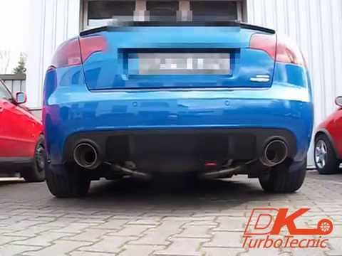 DK-TurboTecnic: Soundcheck Audi A4 B7 DTM Edition