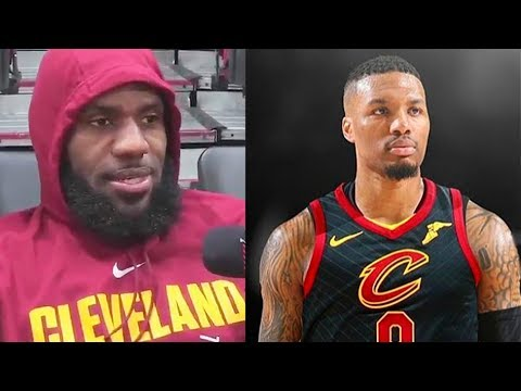 "LeBron James Recruits Damian Lillard to the Cavs ""Give Me Damian Lillard"