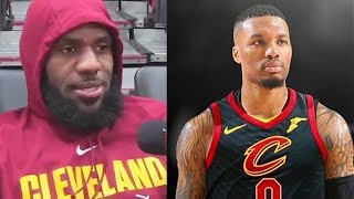 "LeBron James Recruits Damian Lillard to the Cavs ""Give Me Damian Lillard"""