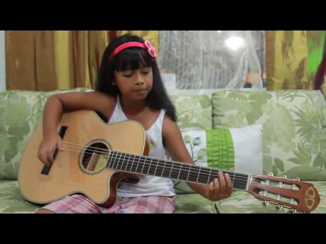 Just Give Me A Reason (Pink) - guitar cover by Gwyn (8yrs old) Travel Video