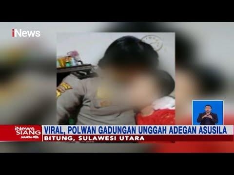 Polwan Gadungan Di Bitung, Sulut Unggah Adegan Asusila - INews Siang 23/04