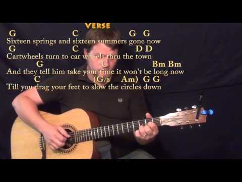 Circle Game (Joni Mitchell) Fingerstyle Guitar Cover Lesson in G with Chords/Lyrics