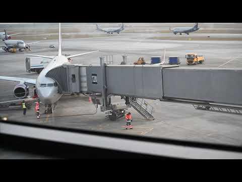 Прибытие 737-800 Аэрофлота в аэропорт SVO