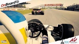 Assetto Corsa Mixed Reality Silverstone Carlos Reutemann Brabham BT44B 1975