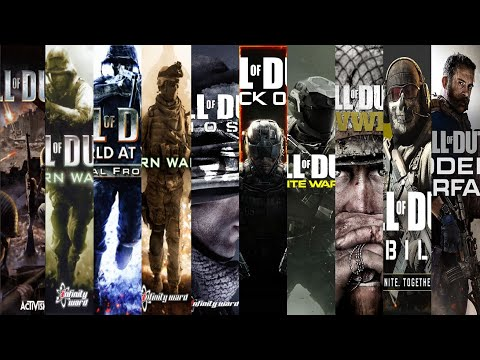 The Evolution Of CALL OF DUTY Games (20032020)