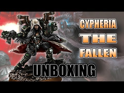 Cypheria The Fallen Chaos Unboxing Review Grim Skull