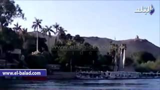بالفيديو والصور.. الأسوانيون يحتفلون بالعيد وسط الجزر النيلية