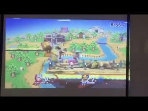 MemeTown DBG/Georgie (Bayonetta) vs S1478 (King Dedede) Winners Final #2