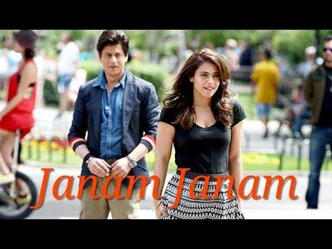 Janam Janam - Arijit Singh   Whatsapp Status Video   Shahrukh Khan   Kajol   Dilwale