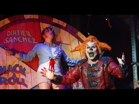 Full FINAL CARNAGE RETURNS of the year at HHN25 Jack The Clo