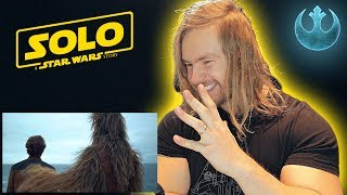 """TRAILER REACTION [] Solo: A Star Wars Story """"Big Game"""" TV Spot"""