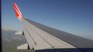 Boeing 737 808 Royal Flight. 30.09.2016 1330 Москва   Анталия Посадка в Анталии SVO AYT