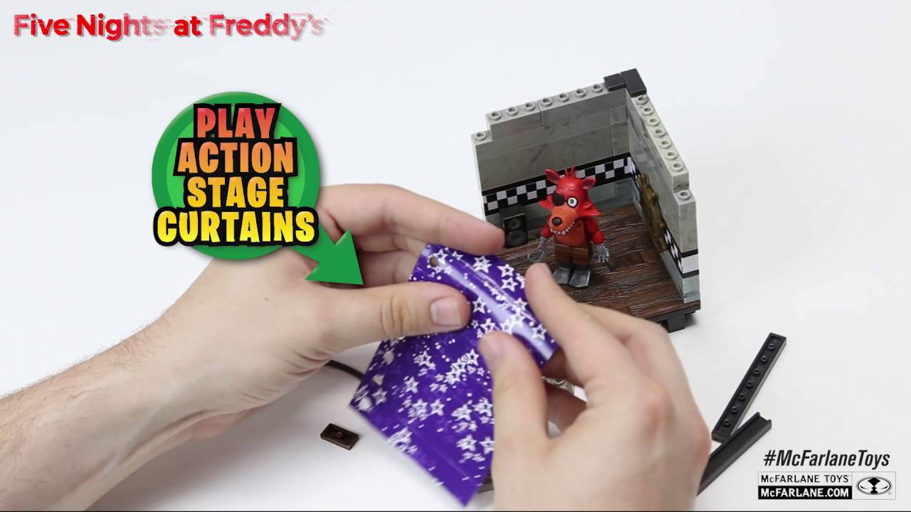 Freddy's Cove Set Construction Five Nights Pirate At qpUzVSM